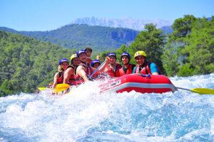 antalya rafting