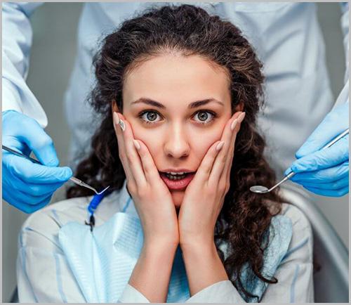 dentist or dental phobia